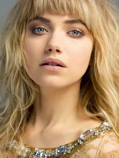 IMOGEN POOTS ON ACTING AND TAKING OVER HOLLYWOOD - EXCLUSIVE INTERVIEW | THE UNTITLED MAGAZINE Julia Maddon, Imogen Poots, Belleza Natural, Beautiful Actresses, Bangs, Hair Makeup, Hair Beauty, Beauty Shoot, Hair Cuts