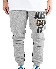 317142ea0f030 NIKE Mens HBR Jogger Pants Grey Heather/Anthracite 931903-063 Size Small