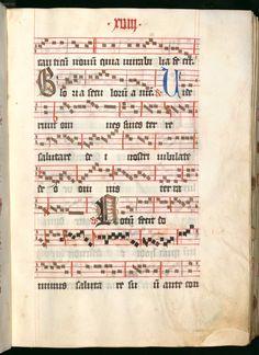 Missale, cum notis musicis et cum figuris literisque pictis Berthold Furtmeyr Clm 23032 [Regensburg], Ende 15. Jahrhundert Folio 18