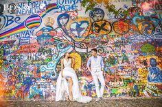 Fotka v albu Wedding photoshooting - Misura Travel & Bossy Photo Studio… Wedding Photoshoot, Photo Studio, Prague, War, Painting, Travel, Voyage, Painting Art, Paintings