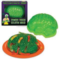 Make a bright green zombie brain next year!