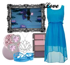"""Love"" by amarie104 ❤ liked on Polyvore featuring Leighton Denny, Deborah Lippmann, COVERGIRL, Disney, Tressa, Bridge Jewelry and Ralph Lauren Collection"