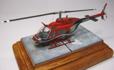 1/72 Tamiya Bell 206 Jet Ranger III by Carlos Escobar