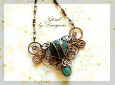 Tutorial: The Storm Pendant by Danagonia  Level: Intermediate | JewelryLessons.com
