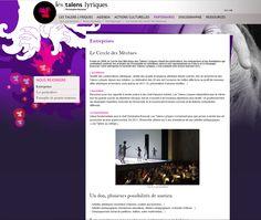 Ensemble Les Talens Lyriques : création et réalisation du site internet. #Minitl  www.minit-l.com