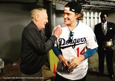THINK BLUE: The Man The Myth The Legend! And no; it's not Luke Skywalker! It's #VinScully by kikehndez