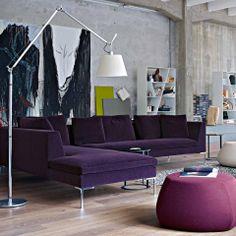 Charles - sofa, Antonio Citterio, B&B Italia