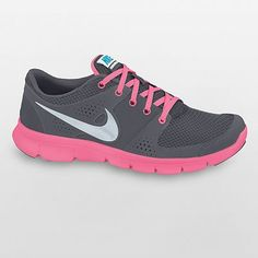 I found 'Nike Flex Experience women's running shoes shoe gray pink sneakers  trainers NEW' on Wish, check it out!