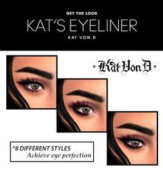 KAT VON D EYELINER | Hallow-Sims