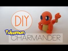 Pokémon Charmander polymer clay tutorial