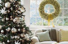 Love the wreath in window