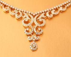 All Diamond Necklace | Diamond necklace