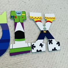 Toy Story, Birthday Parties, Birthday Gifts, Wood Letters, Custom Wood, Photo Props, Pixar, Little Ones, Party Themes