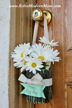 Easy May Day basket craft