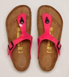 Birkenstock Gizeh Sandal- pink. I kinda like these @Lorrie Cerny (and I do love birkenstocks!)