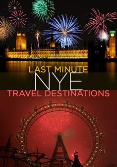 5 Last Minute NYE Travel Destinations