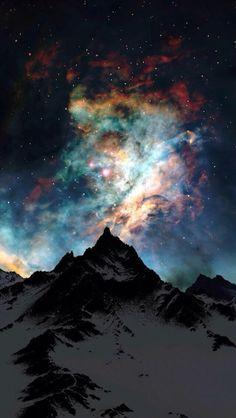 unearthly auroras