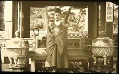 """His Majesty, the King of Korea, Ko Jong."" Percival Lowell photo ca. 1882."