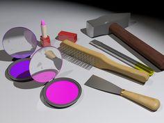 MakeUp Tools by ~acidbluefire on deviantART
