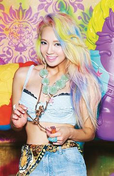 [Eye Candy] 19 colorful hairstyles that will brighten up your day