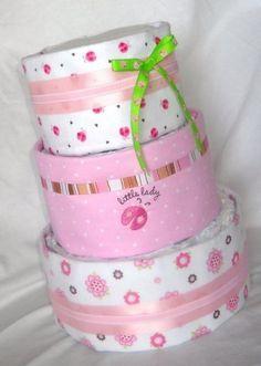 Diaper Cake by melinda