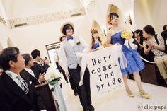 結婚式 at ルセンティフォーリア大阪 その1 |*ウェディングフォト elle pupa blog*|Ameba (アメーバ)