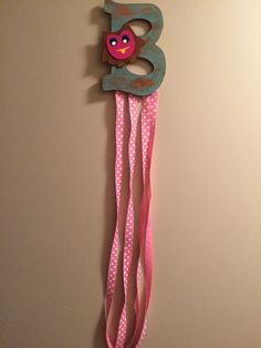 Bow hanger I did for a friend