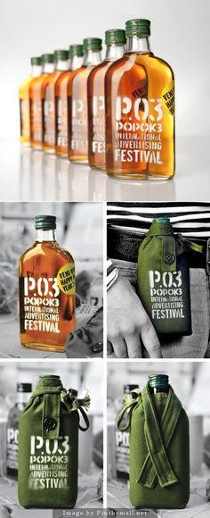 Popok Flask by Backbone branding