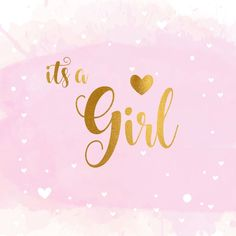 Kara's Baby Shower - Baby Announcement Welcome Baby Girls, New Baby Girls, Baby Love, Its A Baby Girl, Its A Boy, New Baby Girl Congratulations, Congratulations Quotes, Scrapbooking Image, Banner Clip Art