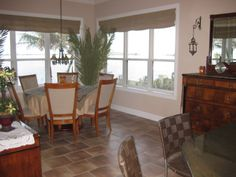 Dining Room overlooks the Banana River