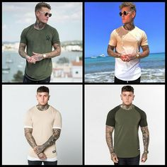 Which casual muscle fit t shirt do you prefer?   Shop these and more here http://ift.tt/2wJ4q7e