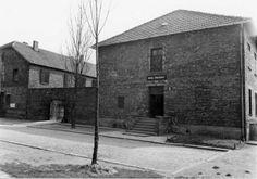 """Auschwitz:  Blok 11 — the camp prison called the """"Block of Death"""". (Auschwitz-Birkenau State Museum Archives)"""