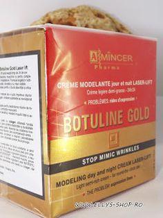 Ellys Shop: Crema Mincer Botuline gold - laser lift de zi si d. Creme, Cover, Shop, Gold, Store, Yellow