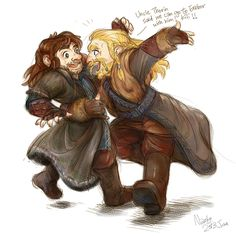 Uncle Thorin said we could go with him!!!