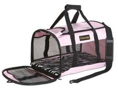 Petmate Soft-Sided Kennel Cab Pet Carrier, Large, Pink - http://www.thepuppy.org/petmate-soft-sided-kennel-cab-pet-carrier-large-pink/