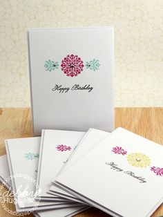 birthday card set - Two Peas in a Bucket