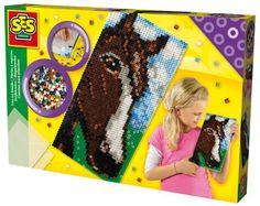 Koraliki prasowanki KOŃ  - zabawki kreatywne dla chłopców i dziewczynek