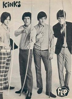 The Kinks (Dave Davies, Ray Davies, Pete Quaife, Mick Avory) - You Really Got… 60s Music, Music Icon, Dave Davies, Classic Rock Artists, The Ventures, The Kinks, British Invasion, Music Bands, Rock Music