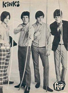 The Kinks (Dave Davies, Ray Davies, Pete Quaife, Mick Avory) - You Really Got Me…