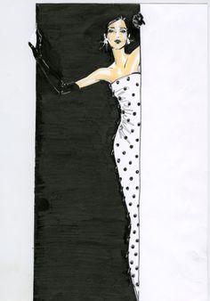Illustration for Oscar De La Renta