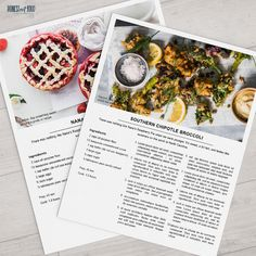 Ever have someone ask you for a recipe? Now you can proudly share your best dishes with your friends, neighbors, and family. Features a contemporary, country-clean style. Perfect for creating and sharing your family recipes with your siblings, children, grandchildren, or friends. Great to attach to holiday cookies, with your potluck dish, and for a welcome to the neighborhood present. Dress up your recipe binder.   ★ DETAILS ★ • 1 professionally designed Photoshop template that can be…