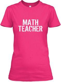 Super Math Teacher | Teespring