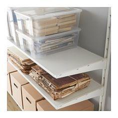 ALGOT Wall upright/shelves, white - IKEA