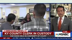 Kentucky county clerk Kim Davis arrested on contempt charge