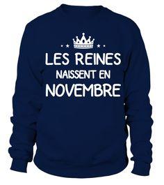 Les Reines Novembre  #image #grandma #nana #gigi #mother #photo #shirt #gift #idea