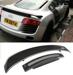 Carbon fiber CAR REAR WING TRUNK SPOILER FOR Audi R8 GT V8 V10 2008 2009 2010 2011 2012 2013 2014 2015 BY EMS