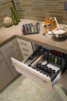 Small Kitchen Space Makers: Corner Kitchen Drawers | The Kitchn