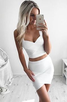 fecb7722691922 V-Neck Tight Crop Tops Ladies Camisole Vest