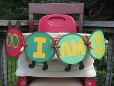 The Very Hungry Caterpillar Banner. $12.00, via Etsy.