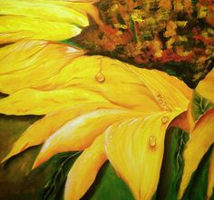 "Sunny Side Up - 16"" x 20"" Framed Oil on Canvas - 2015"